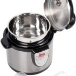 Best secura 6-in-1 electric digital stainless steel steamer with pot