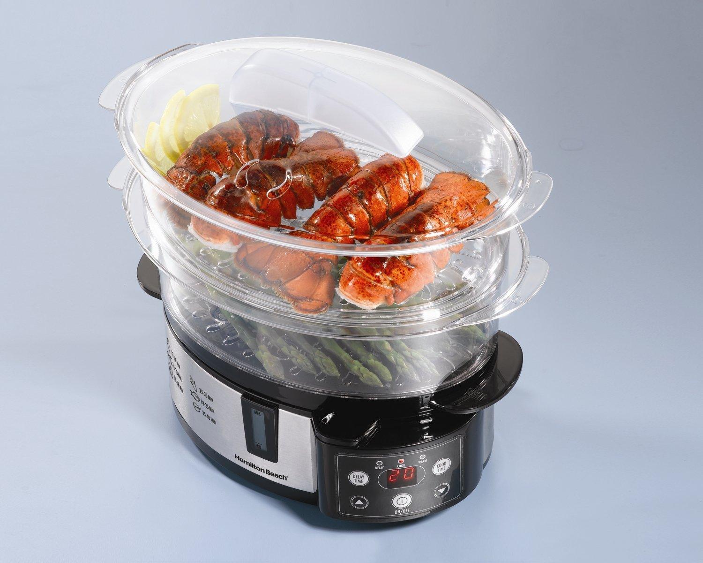 Electronic Food Steamer ~ Hamilton beach digital tier food steamer best