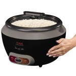 T-fal 20 cup rice cooker cool touch stainless steel exterior