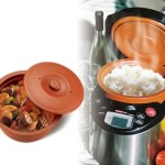 VitaClay multi cooker with clay inner pot that keeps the heat inside for faster cooking results