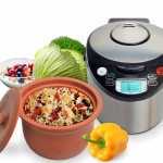 VitaClay Smart Organic Multi Cooker Rice Cooker Slow Cooker VM7900 6-8