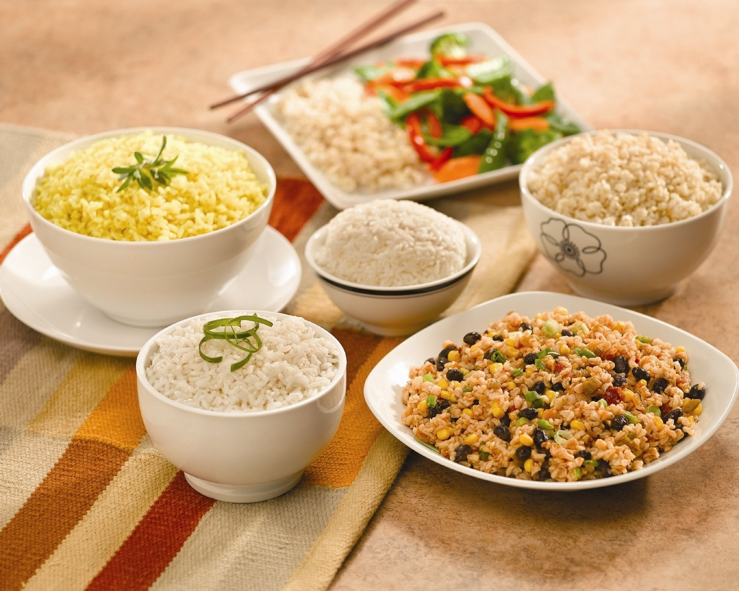 Types Of Cooked Rice