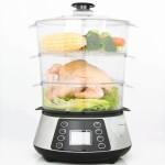 Whole chicken in Heaven Fresh HF 8333 NaturoPure digital food steamer