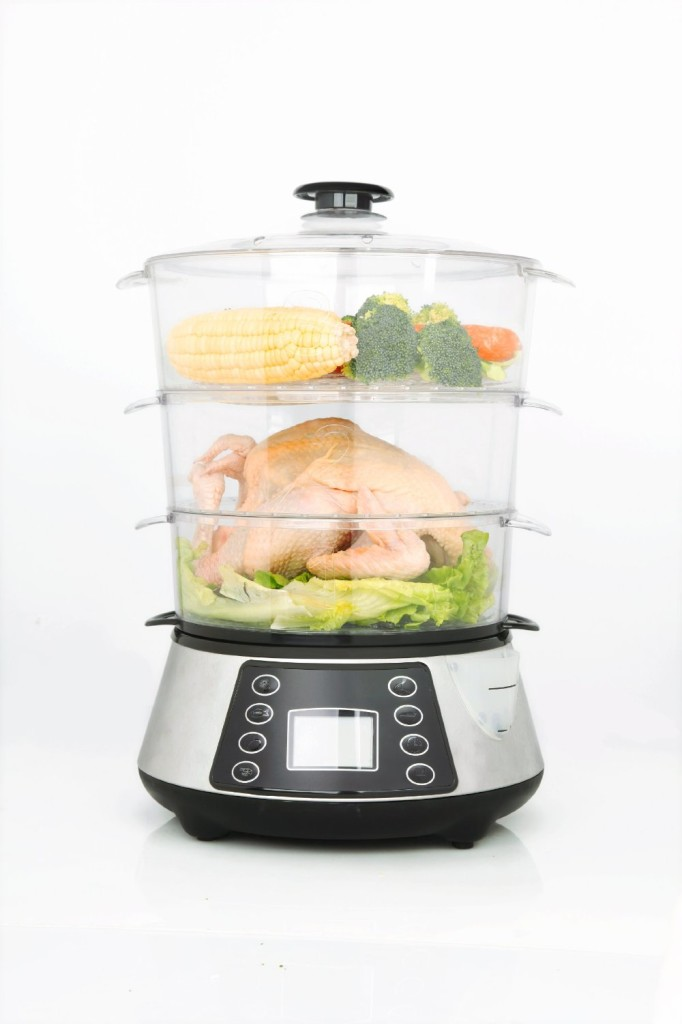 Large Electric Food Steamer ~ Heaven fresh hf naturopure digital food steamer