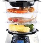 Heaven Fresh HF 8333 NaturoPure Digital Food Steamer 3 Tier Electric Large