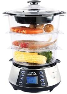 Large 3 tier Heaven Fresh HF 8333 NaturoPure digital food steamer