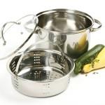 Multi purpose Norpro stainless steamer pot