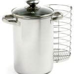 Norpro asparagus stainless steel steamer pot dimensions