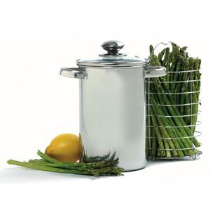 Norpro asparagus stainless steel cooker steamer 3 quart pot