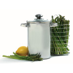 Norpro asparagus stainless steel steamer pot