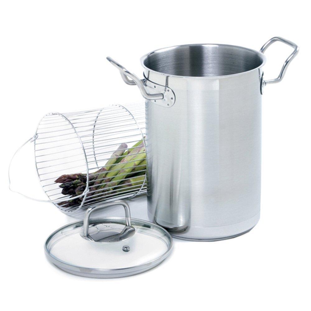 Cooking Pot Steamer ~ Norpro krona stainless steel asparagus quart steamer