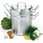 Norpro KRONA 6 Quart Stainless Steel Steamer Pot