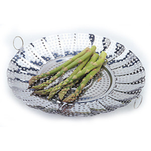Norpro Large No Post Stainless Steel Vegetable Steamer Basket