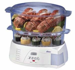 Oster 5712 2-tier food steamer original image