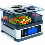 Viante CUC-30ST Intellisteam Counter Top Food Steamer with 3 Separate Compartments BPA FREE