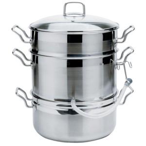 Norpro Krona stainless steel steamer juicer