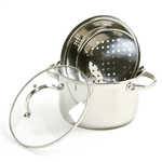 Norpro stainless steel 4 quart steamer pot