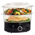 BELLA black 13872 food steamer feature image