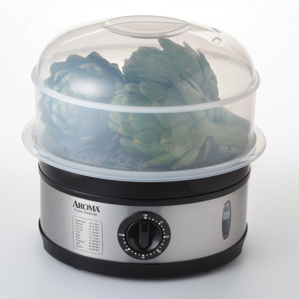 BPA FREE Aroma 2 tier food steamer