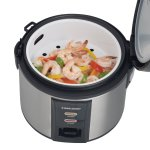 Black & Decker 12-cup rice cooker with steamer