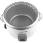 Black Decker 28-cup rice cooker non stick teflon coated cooking pot