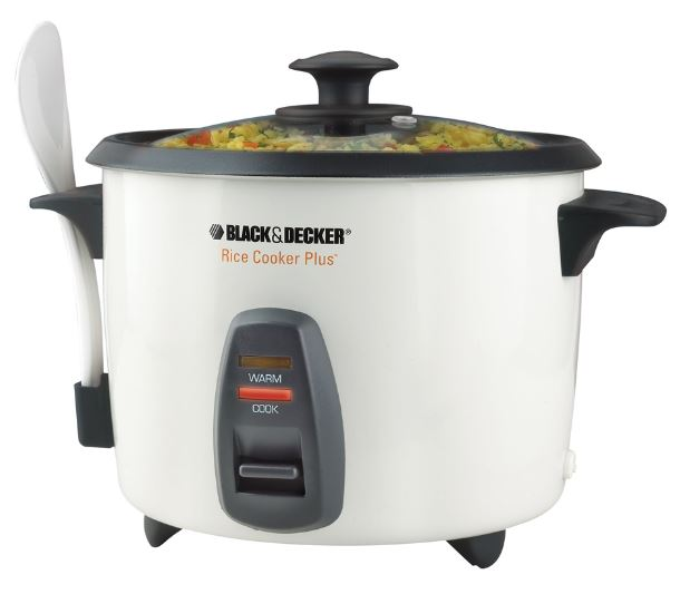 Black & Decker RC436 white 16-cup rice cooker