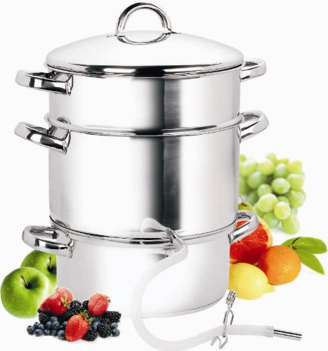 Cook N Home NC-00256 11-quart stainless steel juicer steamer
