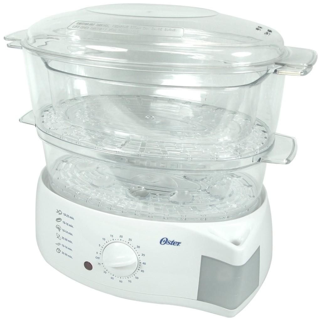 Oster 5711 mechanical food steamer white
