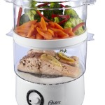 Oster CKSTSTMD5-W 5-quart food steamer feature image