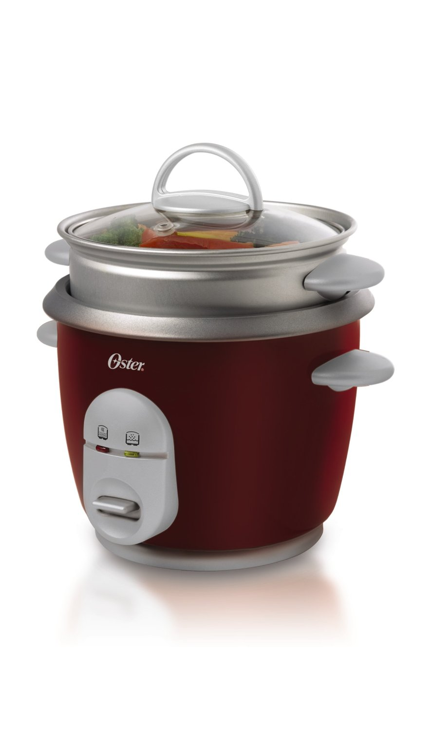 Steam Cooker Steamer ~ Oster ckstrcms r cup cooked rice cooker and steamer