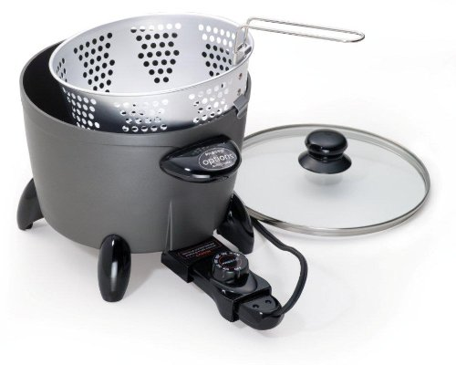 Presto 06003 options electric multi cooker steamer
