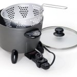 Presto 06003 options electric multi cooker steamer deep fryer