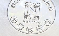 induction capability symbol on the base of cook n home boiler steamer set