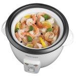steamed shrimp in Black & Decker 14-cup rice cooker