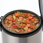how to cook best stew in Aroma 8-Cup digital rice cooker & food steamer