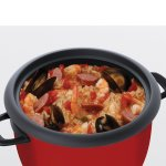 jambalaya in Aroma 14-cup pot style rice cooker food steamer