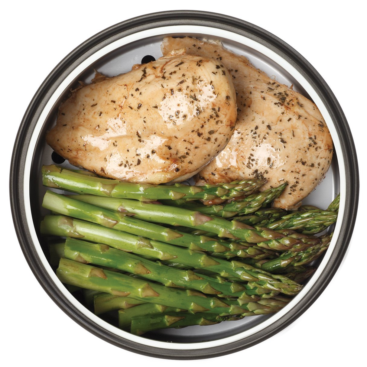 Steamed chicken and asparagus in aroma digital rice cooker food published september 17 2014 at 1214 1214 in forumfinder Gallery