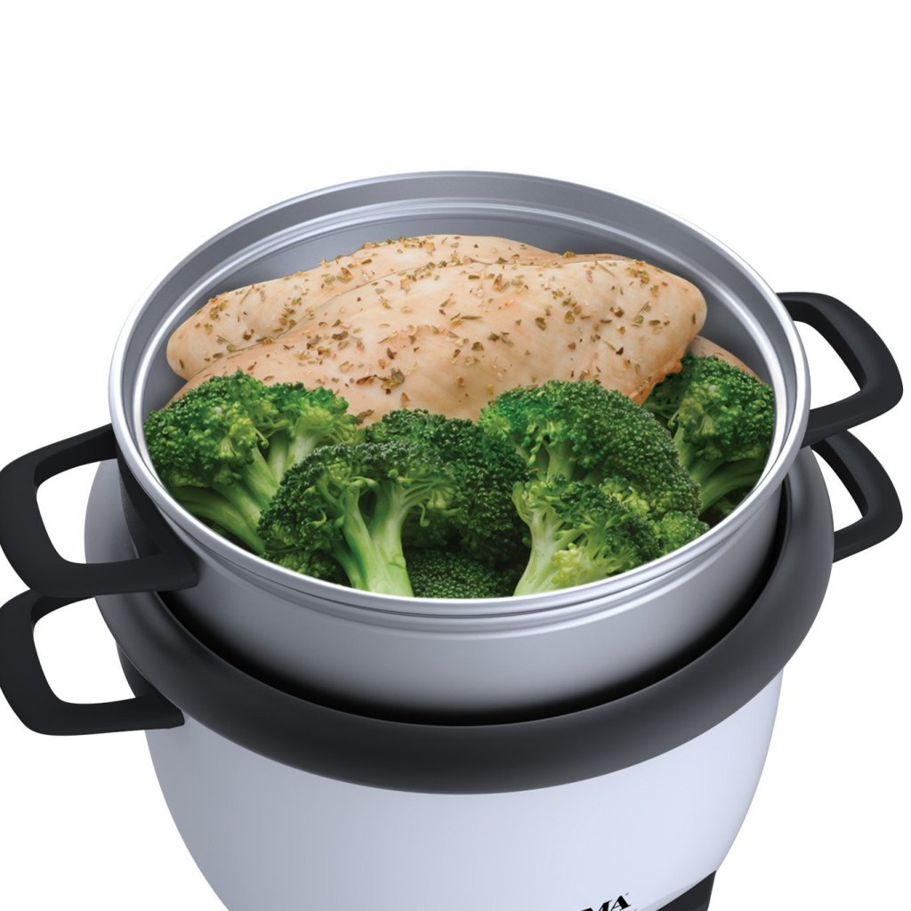 how to use breville rice cooker and steamer