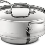 All Clad stainless steel food steamer insert feature image