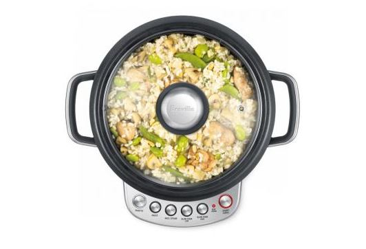 Breville BRC600XL the risotto plus slow rice cooker cooks rice to perfection