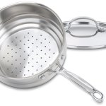 Cuisinart chef's classic stainless universal steamer insert feature image