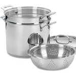 Cuisinart Stainless Steel 12-Quart Stock Pot Pasta Steamer