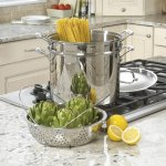 Cuisinart classic stainless steel 12-quart pasta steamer set