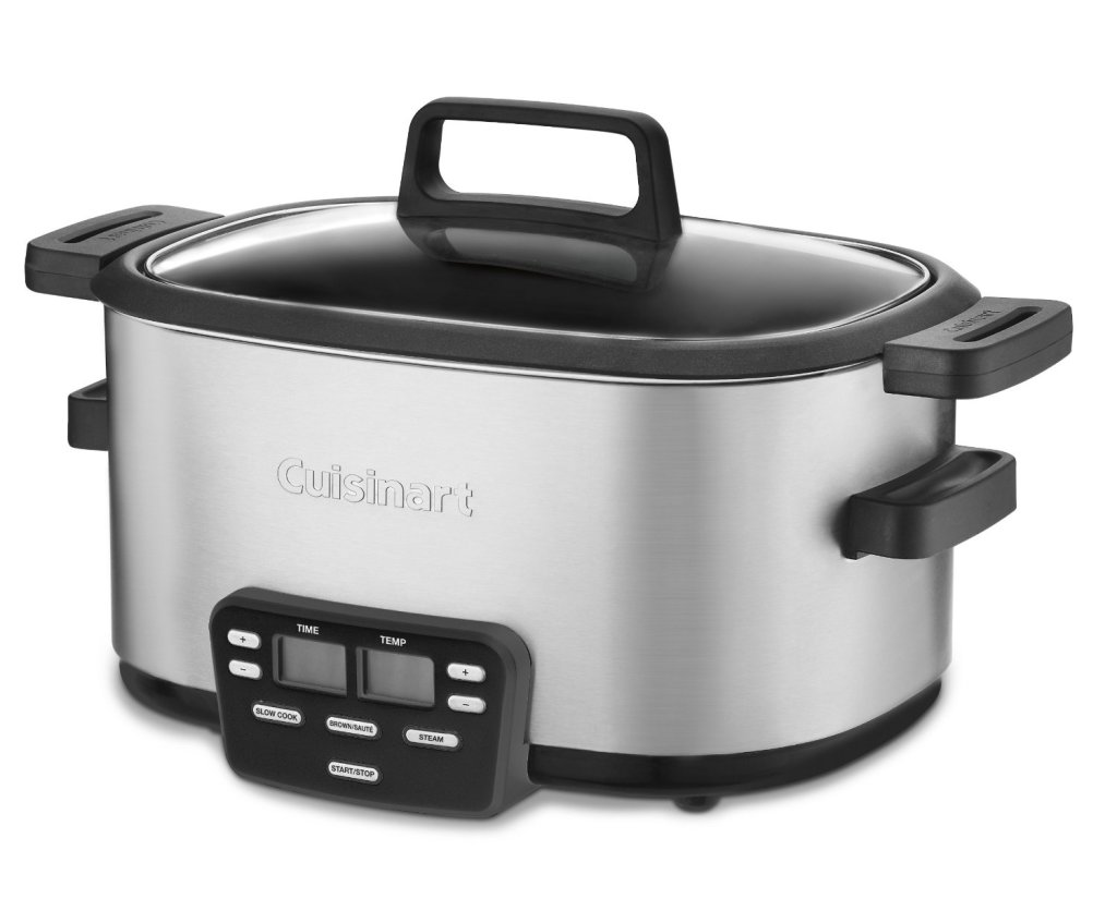 Cuisinart MSC-600 3-In-1 central 6-quart multi slow cooker