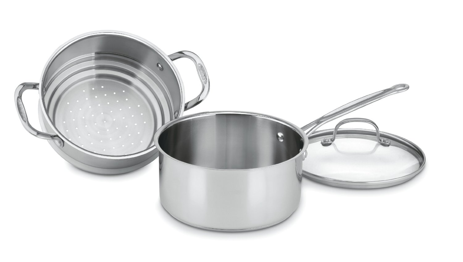 how to clean burned cuisinart stainless steel pans