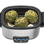 Cuisinart MSC-600 3-In-1 6-quart multi cooker in steam mode
