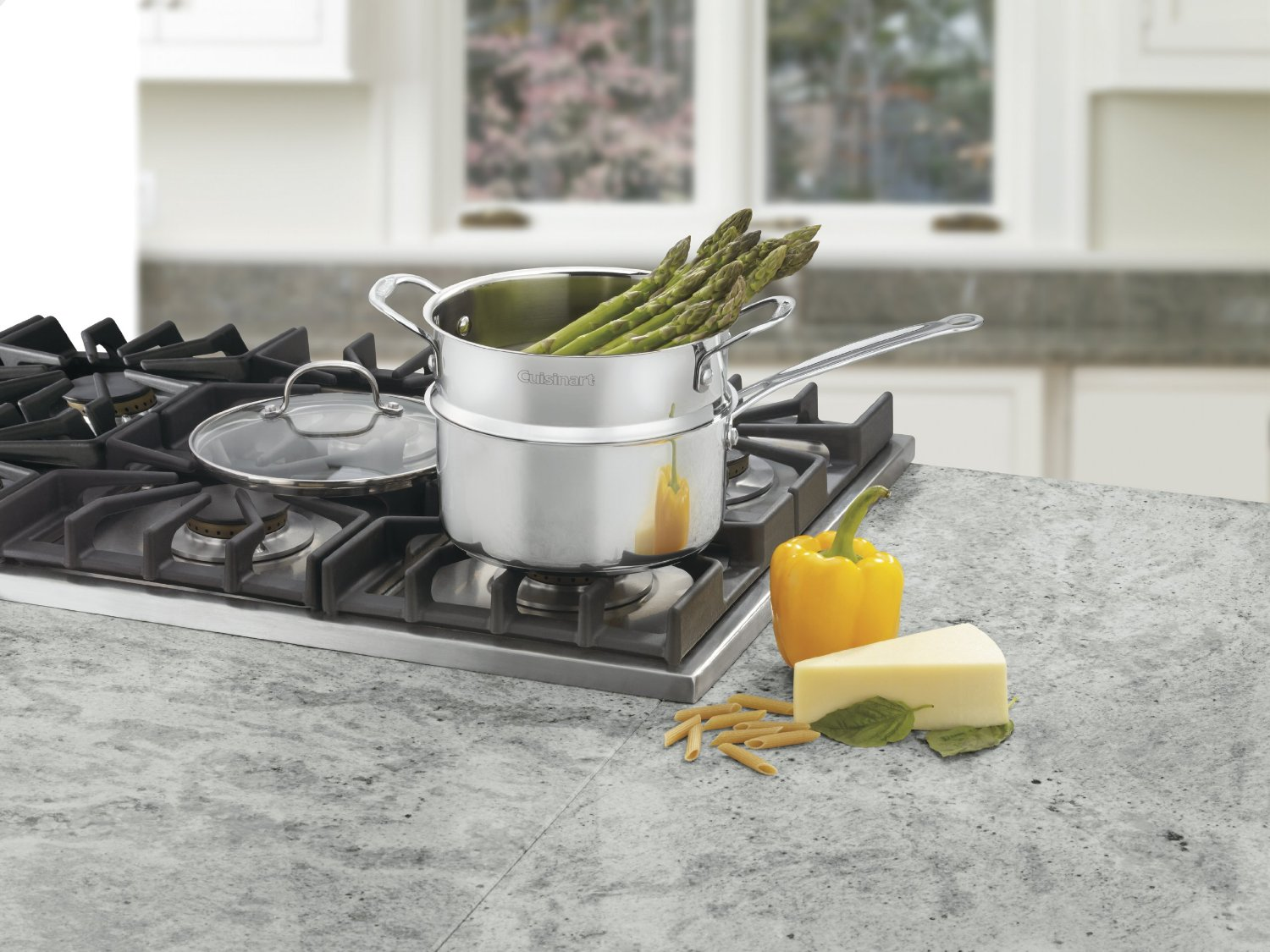 Asparagus In Cuisinart Chef S Classic Stainless 3 Piece 3
