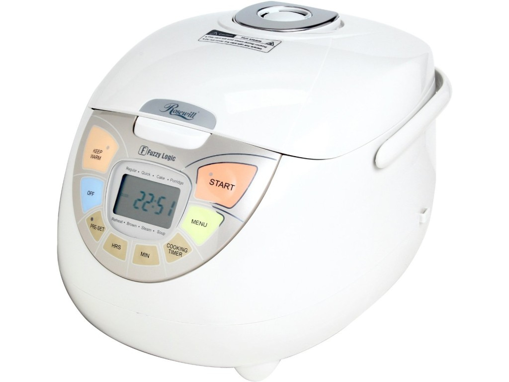 Rosewill RHRC-13002 fuzzy logic 20 cup rice cooker steamer featured image
