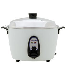 TATUNG TAC-6G 6 cup rice cooker with stainless steel inner bowl pot