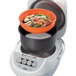 Tiger JBV-A10U Micom 5.5-Cup Rice Cooker Steamer Warmer